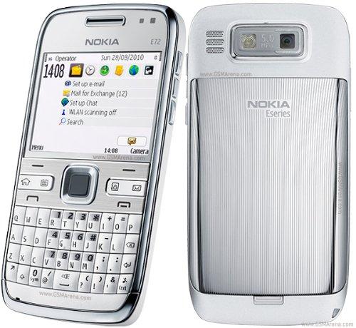 Nokia E72 White Edition Simfree Unlocked Black Friday & Cyber Monday 2014