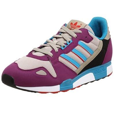 Adidas Originals Mens ZX800 Trainers, Violet/Turq/Red, 13