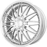 """Verde Custom Wheels Regency Silver Wheel with Machined Lip (17x7.5""""/5x4.5"""")"""