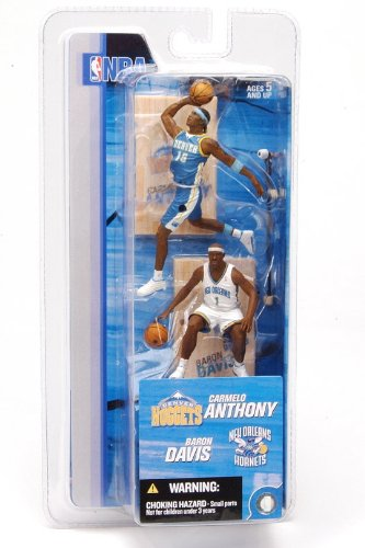 McFarlane Toys NBA 3 Inch Sports Picks Series 2 Mini Figures 2-Pack Carmelo Anthony
