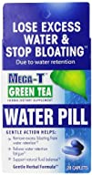 Mega-t Green Tea Water Pill Pack of 6