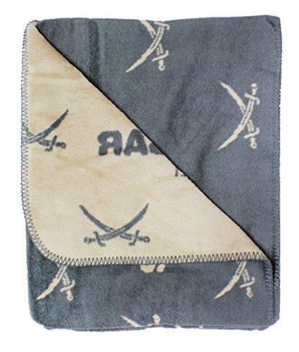 Coperta 150 x 200 cm arredo casa Sansibar divano coperta con spada immagine all over 202