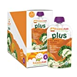 Happy Tot Plus Organic Baby Food, Kale, Apple and Mango, 4.22 Ounce Pouches (Pack of 16)