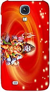Timpax Light Weight One-piece construction Hard Back Case Cover Printed Design : Lord Shiva.Specifically Design For :Samsung I9500 Galaxy S4