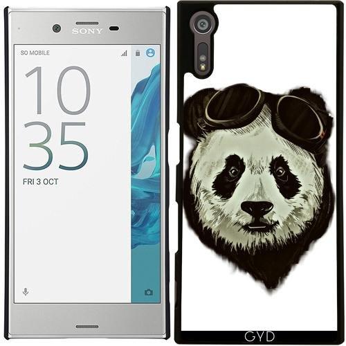 Custodia per Sony Xperia XZ - Pantaloni A Vita Bassa Orso Panda Asia by WonderfulDreamPicture