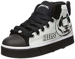 Heelys Zoo Crew Skate Shoe (Little Kid/Big Kid), Panda, 1 M US Little Kid