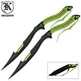 Zombie Apocalypse Twin Sword Set With Sheath