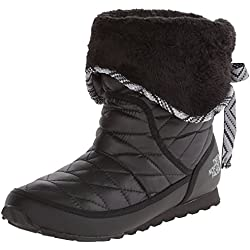 The North Face ThermoBall Roll-Down Bootie II - Shiny TNF Black