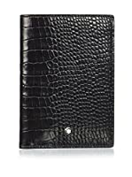 Montblanc Cartera Mst Sel 12Cc View Pocket (Negro / Marrón)