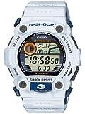 Casio Homme G-Shock Watch, Blanc