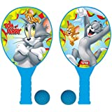 Turner Entertainment Tom And Jerry Plastic Racket Set, Multi Color