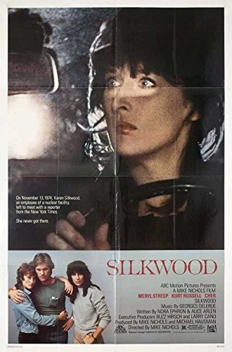Silkwood 1983 Original USA One Sheet Movie Poster Mike Nichols Meryl Streep