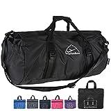 "23"" Travel Duffel Gym Bag Women & Men Large Foldable Duffle Shoulder Bag Luggage"