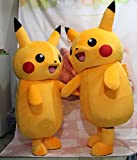Pokemon-Pikachu-mascota-disfraz-Pikachu-disfraz-disfraz-de-dibujos-animados