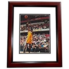 Roy Hibbert Autographed  Hand Signed Indiana Pacers 8x10 Photo - MAHOGANY CUSTOM...