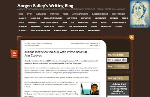 Amazon.co.uk: Morgen Bailey's Writing Blog: Kindle Store