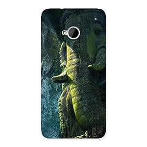 Stylish Rock Ganesha Back Case Cover for HTC One M7