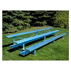 Jaypro Sports Blch-3al 3 Row 15 Ft Aluminum Bleacher from Jaypro Sports