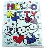Hello Kitty 3- Ring Binder / School Binder : Glasses