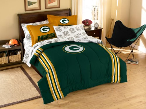 Nfl Green Bay Packers Bedding Set, Full front-875702