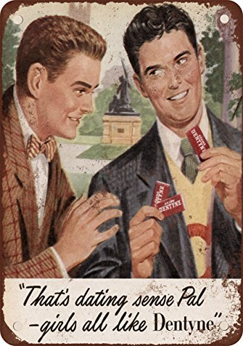 1948-dentyne-gum-aspecto-vintage-reproduccion-metal-tin-sign-7-x-10-pulgadas