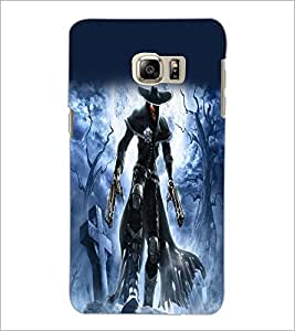 PrintDhaba Warrior D-2078 Back Case Cover for SAMSUNG GALAXY NOTE 5 EDGE (Multi-Coloured)