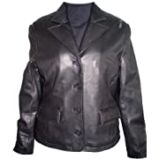 Paccilo 4033 ULTRA SOFT PREMIUM Grade Real Lambskin Short Leather Blazer