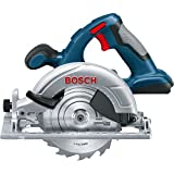 Advanced Bosch XS-ProSPEC GKS 18 V-LI 18v Cordless Circular Saw 165mm Blade without Battery or Charger [Pack of 1] w/Extended Warranty