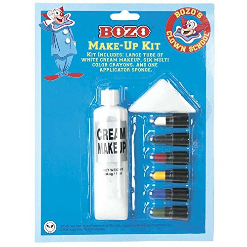 Bozo The Clown Costume Make Up Kit