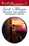 Bought: The Greek's Innocent Virgin (Harlequin Presents)