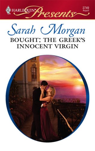 Bought: The Greek's Innocent Virgin (Harlequin Presents), SARAH MORGAN