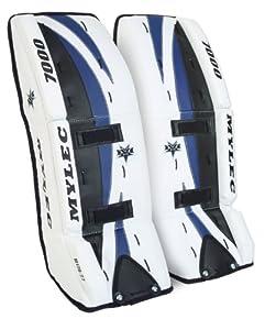 Buy Mylec Ultra-Lite 7000 Goal Pads (White, 32-Inch ) by Mylec