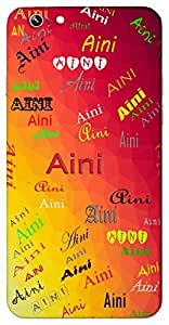 Aini (Spring Flower Source The Eye) Name & Sign Printed All over customize & Personalized!! Protective back cover for your Smart Phone : Apple iPhone 6