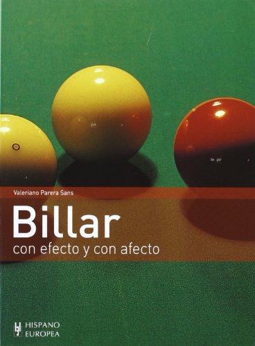 BILLAR CON EFECTO Y CON AFECTO