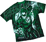 Intense Lantern -- Green Lantern All-Over Print T-Shirt