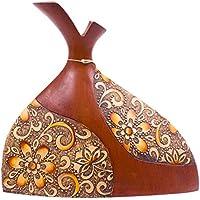 ARTELIER Polyresin Vase (30 Cm X 32 Cm X 30 Cm, ID-5253-090)