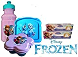 Exclusive Disney's Frozen Meal Time Lunch Set! 5 Pc. All Enclusive Set Includes: Resuable Meal Storage Containers & Frozen Sandwhich Bags! Featuring Elsa, Anna & Olaf!