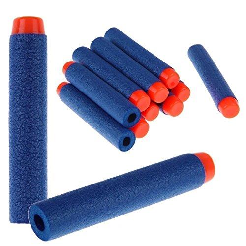 CECII Toy Gun Bullet , Blue Foam Darts for Blasters Toy Gun 200pcs (Blue) (9mm Bullet Belt compare prices)