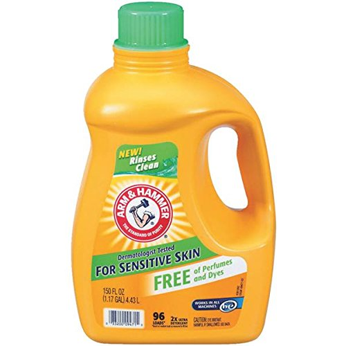 Arm & Hammer Laundry Detergent, Sensitive Skin, 150 Oz