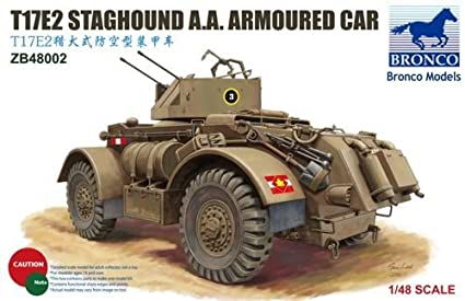 1/48 British stack anti-aircraft machine gun hound T17E2 with CBZ48002 (japan import)