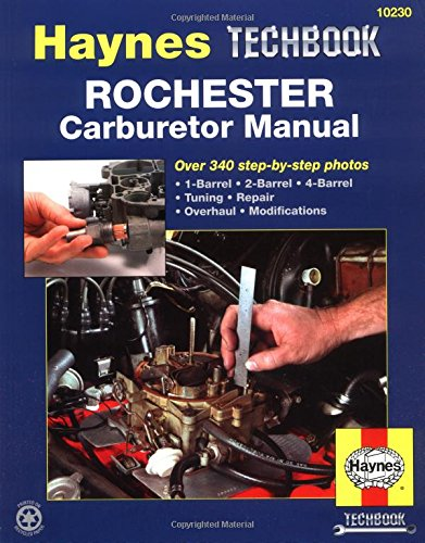 Rochester carburetor manual haynes repair manuals for Rochester department of motor vehicles
