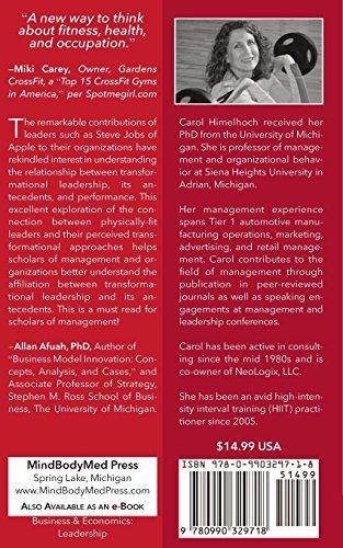 Transformational  Leadership: and  High-Intensity Interval Training: Volume 1 (MindBodyMed Press Mini-Monograph Series)