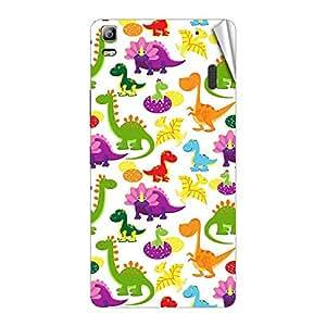 Garmor Designer Mobile Skin Sticker For Lenovo P70 - Mobile Sticker