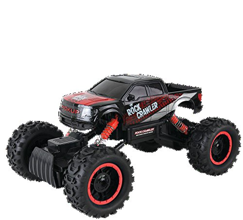 Remote-Control-Car-For-Kids-Rock-Crawler-4x4-RC-Car-114-Rock-Master-Rock-Crawler-with-24Ghz-Controller-by-ThinkGizmos-Trademark-Protected