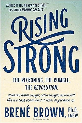 Rising Strong Brene Brown
