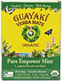 Guayaki Pure Empower Mint Mate Tea Blend, Tea Bags, 16 Count package