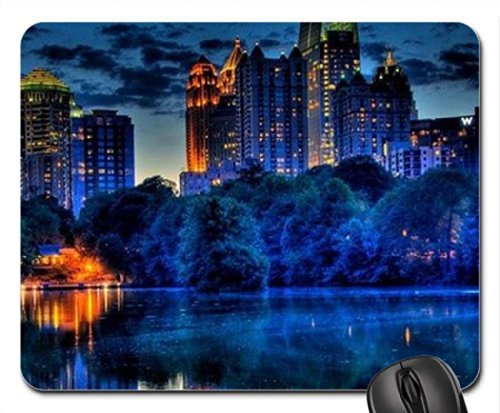 midtown-atlanta-from-piedmont-park-mouse-pad-mousepad-houses-mouse-pad