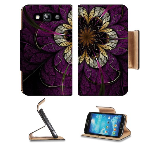 Pattern Flower Samsung Galaxy S3 I9300 Flip Cover Case With Card Holder Customized Made To Order Support Ready Premium Deluxe Pu Leather 5 Inch (132Mm) X 2 11/16 Inch (68Mm) X 9/16 Inch (14Mm) Liil S Iii S 3 Professional Cases Accessories Open Camera Head