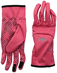 Helly Hansen Men\'s Softshell Smart Glove, Pink Glow, Small