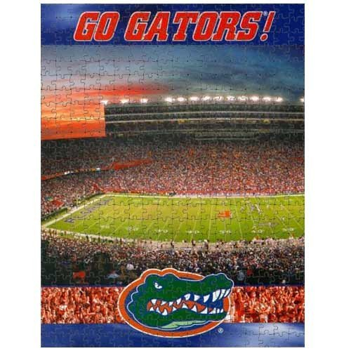 Racing Reflections Florida Gators 18X22 550 Piece Jigsaw Puzzle